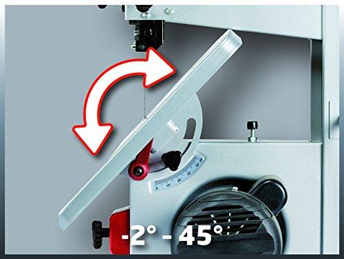 Einhell Bandsäge TC-SB 200/1 (250 W, max. Schnitthöhe 80 mm, Durchmesser Absauganschluss 36 mm, Parallelanschlag, Schiebestock) - 3