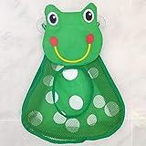 Cartoon della Rana Giocattolo Bagagli Tasca in Rete Bathroom Wall Aspirazione Bambino Kids Toy Organizzatore Netto da Toeletta Borse