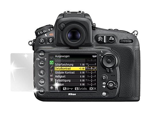 dipos I 6X Schutzfolie klar passend für Nikon D810 Folie Displayschutzfolie