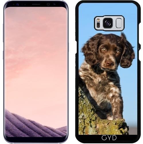 Hülle für Samsung Galaxy S8 Plus - Niedlich Deutsch Spaniel Hundewelpe by Katho Menden