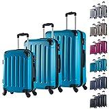 Le nostre valigie sono leggere e robuste molto comode da portare, perfetto per un viaggio.Facile per il movimento-- Hanno 4 ruote silenziose possono girare per ogni direzione, offrono una comoditš€ massima.un materiale robusto e antiscivolo c...