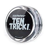 YoyoFactory Ten Trick Yo-Yo - Transparente (Genial para Principiantes, Juego Yoyo Moderno, Freestyle Yoyoing Tricks)