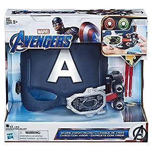 Avengers- Captain America Scope Vision Helmet, Multicolor (Hasbro E6507EU4)