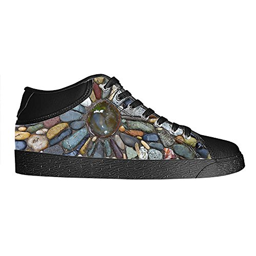 Dalliy Pebble Men's Canvas shoes Schuhe Lace-up High-top Sneakers Segeltuchschuhe Leinwand-Schuh-Turnschuhe E