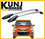#8: Sleek Model Car Roof Rail - Maruti Suzuki Alto K-10 - with 3M Adhesive Tape - Black/Silver