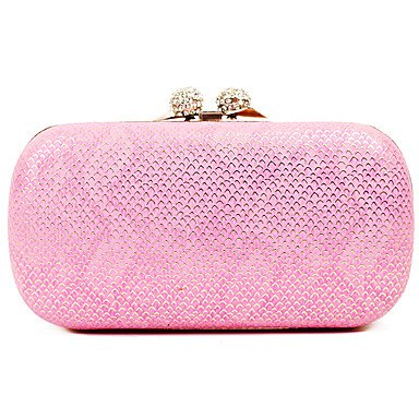 pwne L. In West Woman Fashion Luxus High-Grade Snakeskin Korn Abend Tasche Blushing Pink
