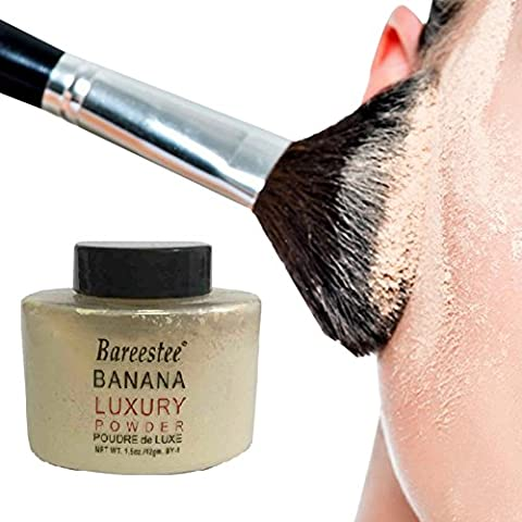 Weisy Brighten Complexion Banana Luxury Loose Powder Fine & Smooth Powder 1.5OZ