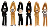 Keel 50cm Hanging Monkeys 6 Assorted ONE SUPPLIED AT RANDOM UNLESS SPECIFIED