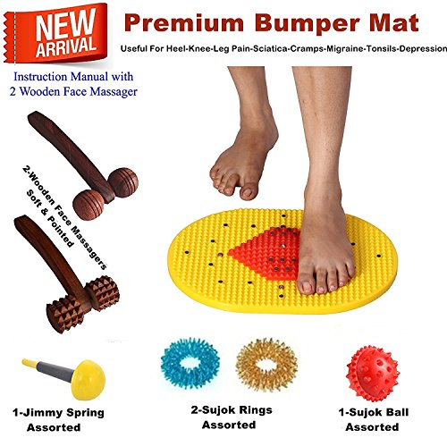 Acupressure-Mat-Bumper-with-Magnets-Pyramids-for-Pain-Relief-and-Total-Health-14x10-Inches-with-Acupressure-Health-Care-Products