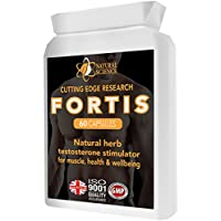 FORTIS Male/Female testosterone booster - UK made Supplement Lab tested – testosterone, stamina, libido support - Zinc Booster with Added Tribulus - Maca, Avena Sativa & Arginine| Raise Libido Muscle Sex Drive - stamina endurance & Strength