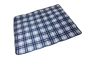 Confidence Camping Picnic Blanket With Roll Bag Blue