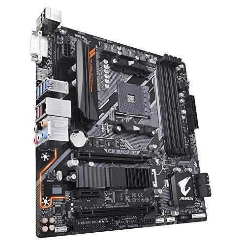 Price comparison product image GIGABYTE B450 AORUS M AM4/B450/DDR4/S-ATA 600/Micro ATX Socket - Black