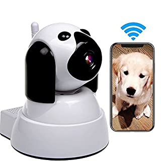 IP Camera,Pet Camera 720P HD Baby Monitor Pet Dog WiFi IP Cam Pan/Tilt with Motion Detection Instant Alert,Two-Way Audio,Day/Night Vision