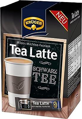 KRÜGER Tea Latte Schwarztee, 4er Pack (4 x 0.144 kg) von KRÜGER - Gewürze Shop