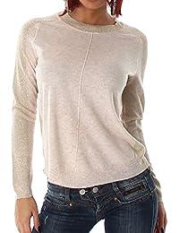 Damen Feinstrick Pullover mit eingearbeiteten Glitzerfäden, in vielen Saisonfarben erhältlich, angenehm weich, wärmend mit einem bequemen Traqekomfort