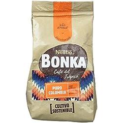 Bonka Café molido de tueste natural Puro Colombia y cultivo sostenible - Paquete de 8 x 220 gr - Total: 1.76 Kg