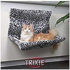 Trixie 43148 Liegemulde für die Heizung, Schneeleopard, 58 × 30 × 38 cm