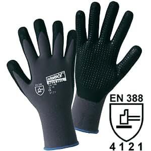 Gants de protection Leipold + Döhle 1166 100% nylon avec revêtement en mousse nitrile avec picots EN 388 RISQUES MECANIQ