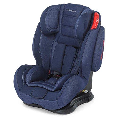 Foppapedretti Tekno–Seggiolino per auto gruppo 1/2/3, 9–36kg, senza Isofix Jeans