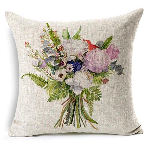 Roses cuscino di stampa, cuscino del divano