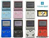 GameBoy Advance SP Konsole (Farbe nach Wahl) + GRATIS SPIEL -