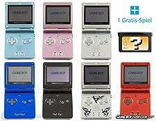GameBoy Advance SP Konsole (Farbe nach Wahl) + GRATIS SPIEL