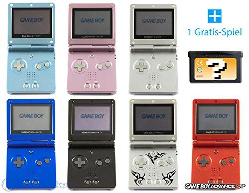 GameBoy Advance SP Konsole (Farbe nach Wahl) + GRATIS SPIEL (Pokemon Gameboy Advance Sp Spiele)