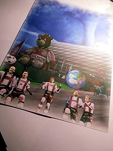 allianz-arena-con-gotze-foche-muller-lewandowski-e-ribery-stampata-direttamente-dal-artista-30-cm-x-