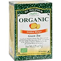 St. Dalfour Green Tea, Golden Mango, 25 ct