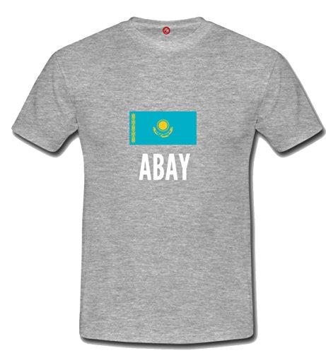 T-shirt Abay city grigia
