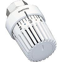 """OVENTROP-Thermostat """"Uni L"""" 7-28 C, 0 * 1-5, Flüssig-Fühler, weiß"""