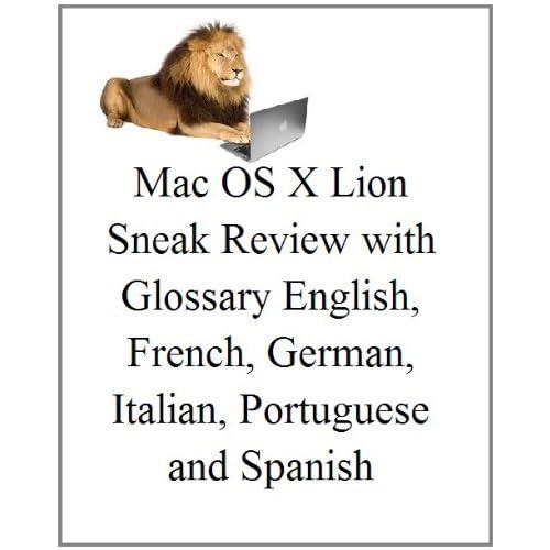 French: Mac OS X Lion: Sneak Examen