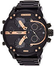 Diesel Mr. Daddy 2.0 Men's Dial Stainless Steel Band Watch - Analog Display, Japanese Quartz Move