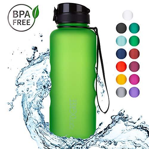 720°DGREE Trinkflasche 'uberBottle' - 1.5 Liter | Wasserflasche Auslaufsicher | Sportflasche | Schule, Sport, Fahrrad | BPA-Frei | Mit Fruchteinsatz