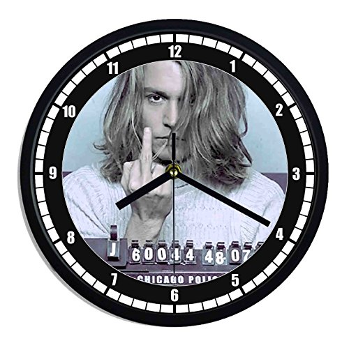 Orologio da parete in plastica Blow film - johnny depp