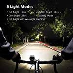 Luci-Bicicletta-LED-Ricaricabili-USB-Luci-Bici-350-Lumen-Anteriore-e-120-Lumen-Posteriore-Impermeabile-Super-Luminoso-Luce-Bici-LED-per-Bici-Strada-e-Montagna