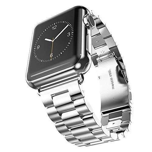 XIHAMA Armband kompatibel für Apple Watch Riemen 42 mm, Edelstahl Alle Modell Series 1 Serie 2 Serie 3 series 4 -