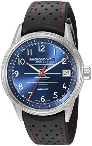 raymond-weil-homme-41mm-bracelet-caoutchouc-automatique-montre-2754-sr-05500