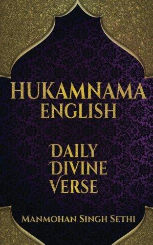 HUKAMNAMA- Daily Divine Verse por Manmohan Singh Sethi
