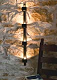 DanDiBo Wandteelichthalter Four Wandkerzenhalter Metall 92 cm Teelichthalter Windlicht