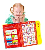 Boxiki Kids ABC Sound Book For Children / English Letters & Words Learning