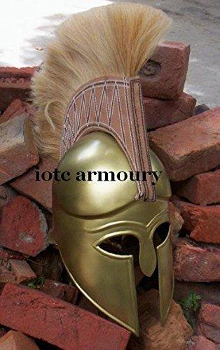 Mittelalter Griechisch Korinthischer Helm Spartan Kostüm Armor