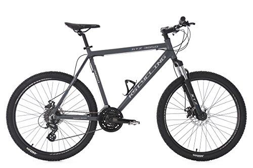 KS Cycling Fahrrad Mountainbike Hardtail MTB GTZ RH 56 cm anthrazit, 26