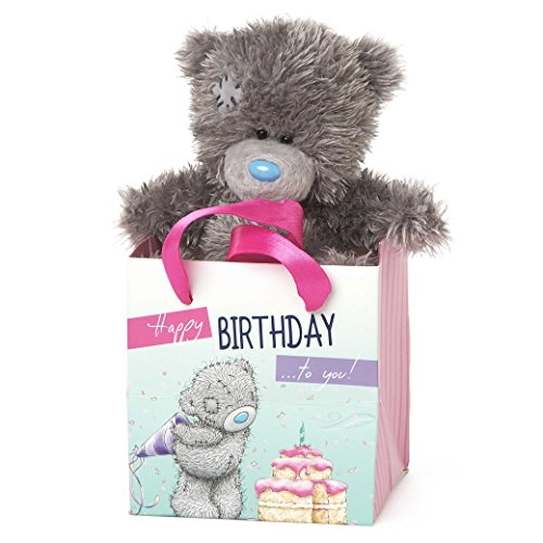 Me To You Tatty Teddy in a Happy Birthday to You Gift Bag.