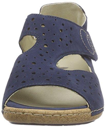 Waldläufer - Heliett, Sandali Donna Blu (Blau (Denver jeans))
