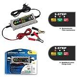 para SWM Cargador de batería para Moto Scooter Quad lampa 70178, 6/12V-0,55/1A amperomatic Trainer