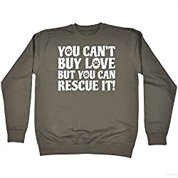 123t Buy Love But You Can Rescue It - Sweatshirt