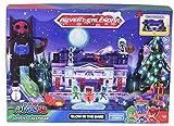 Dickie Toys 203149003 Advent Calendar PJ Masks Kinder, Adventskalender Spielzeug inkl. 3 Die-Cast-Fahrzeuge & 5 Figuren, zum Aufhängen oder Aufstellen, Mehrfarbig