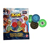 Zak Storm 41500 Actionspielzeug-Blind Pack, 4 Münzen