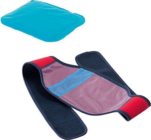 SENSIPLAST® Wärme-/Kälte-Kompresse Set mit Befestigungsgurt (Rücken, Becken, Bauch)